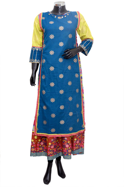 Long ethnic dress #fdn5002-201