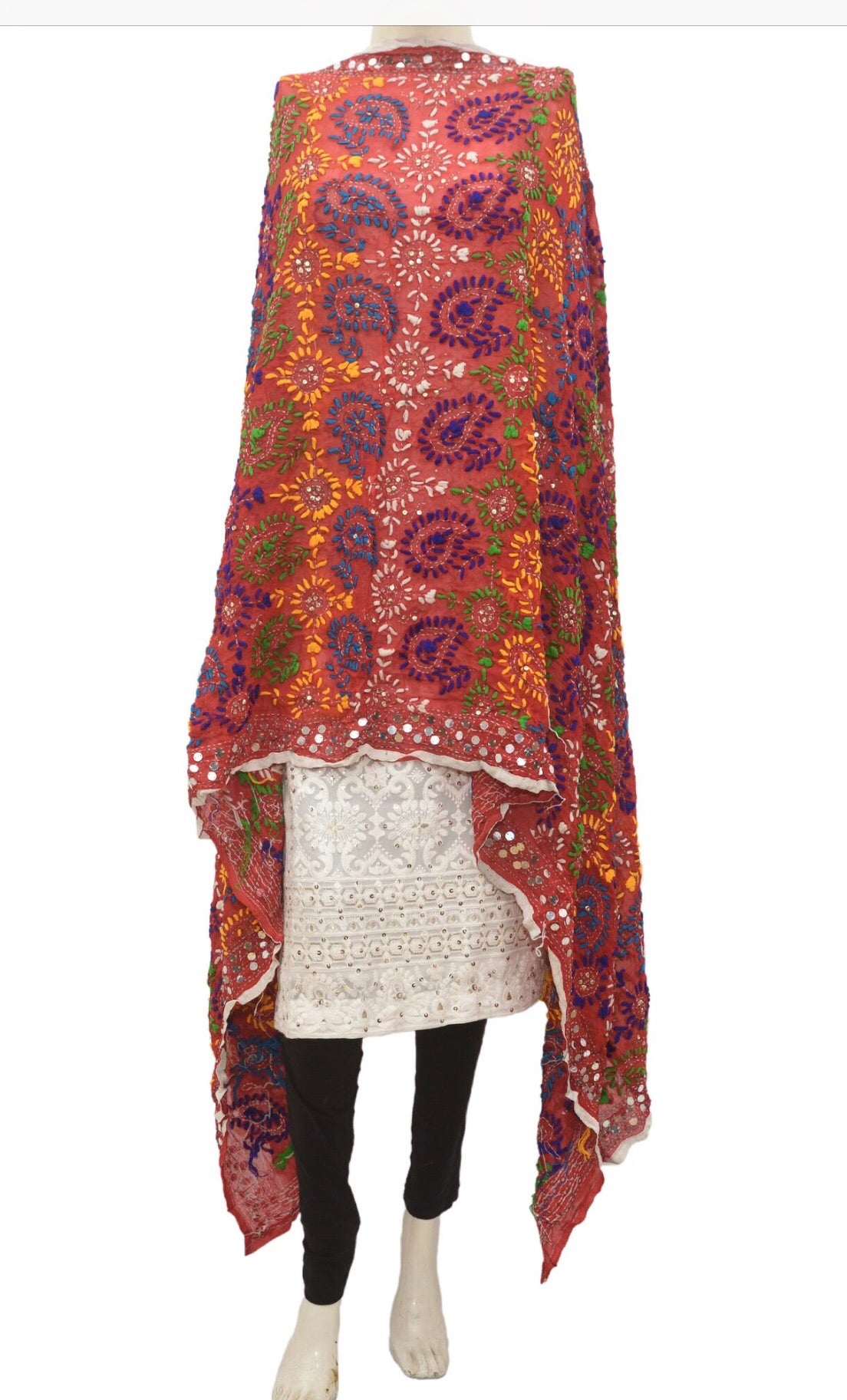 Embroidered dupatta #fdn913-141