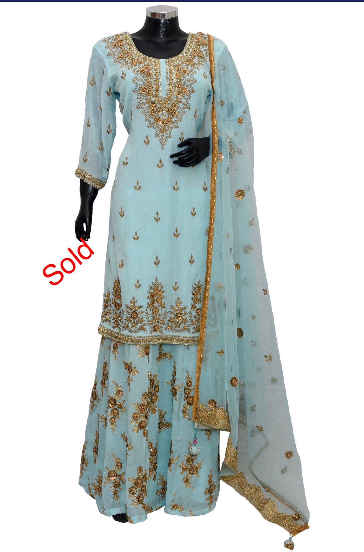 Party wear embroidered #fdn5060-851