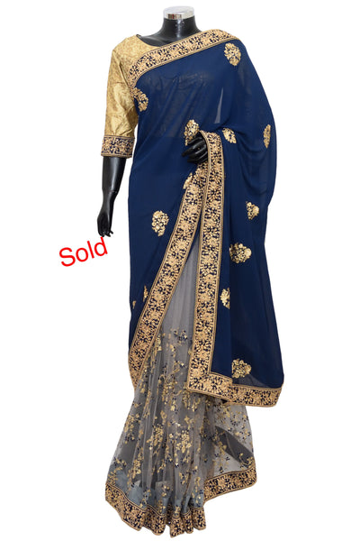 Festive party wear Saree #fdn3092-501