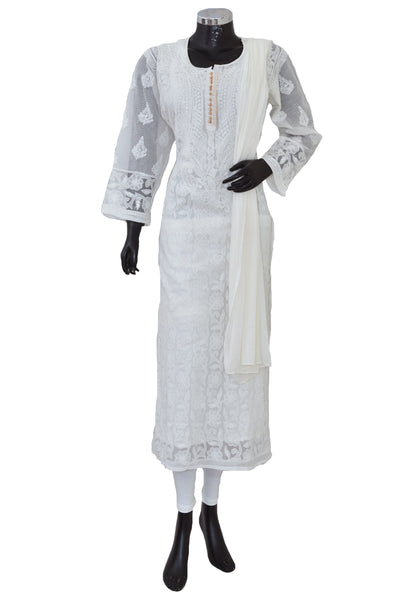 Chikankari's set in cotton #fdn901140-201