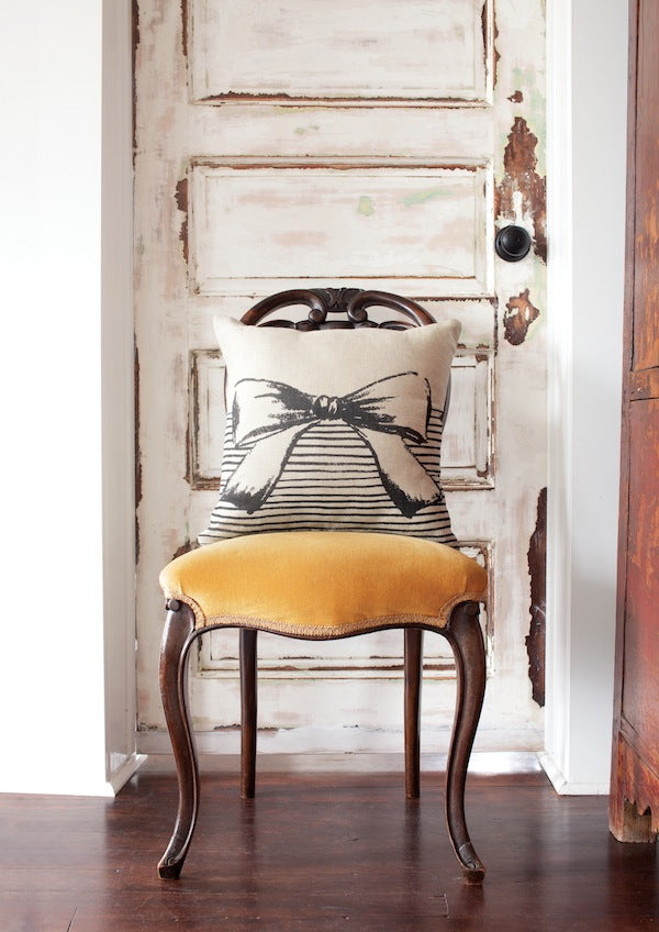 Spruce Collective: Prim + Proper Cushion $42