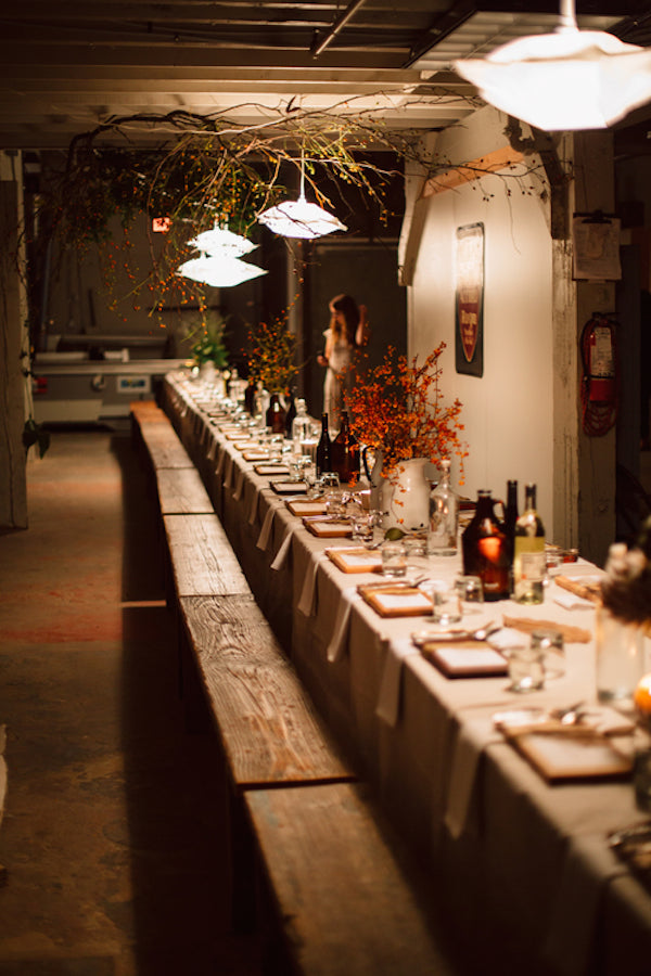 Kinfolk Dinner | Spruce Vintage Rentals | Photo by Britney Gill