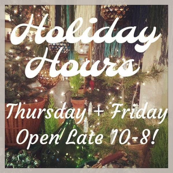 Spruce Christmas Hours
