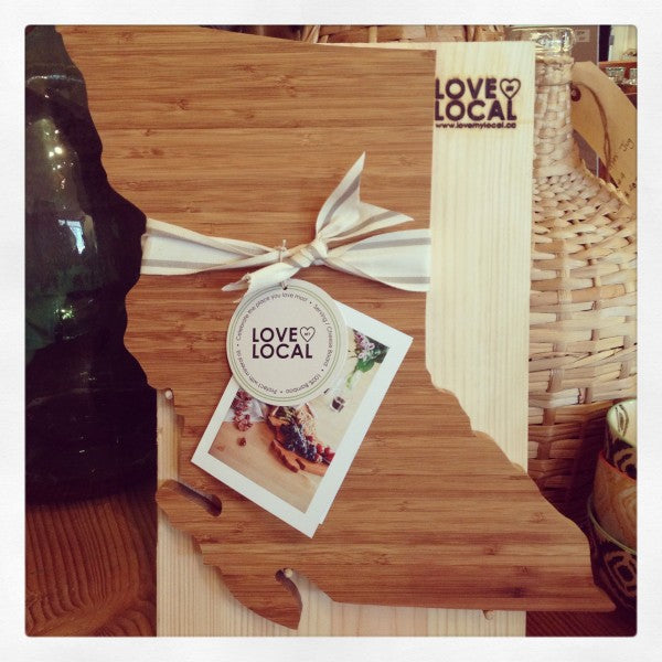 Spruce Collective: Handmade province cheese boards by Love My Local