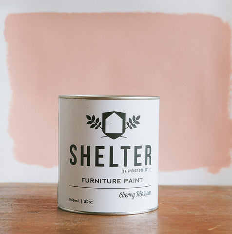SHELTER Furniture Paint by Spruce Collective  CHERRY BLOSSOM