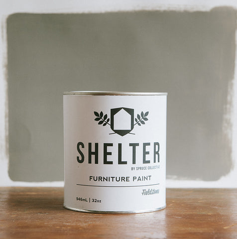 SHELTER Furniture Paint by Spruce Collective FIELDSTONE