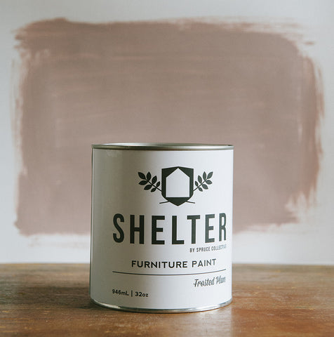 SHELTER Furniture Paint by Spruce Collective FROSTED PLUM
