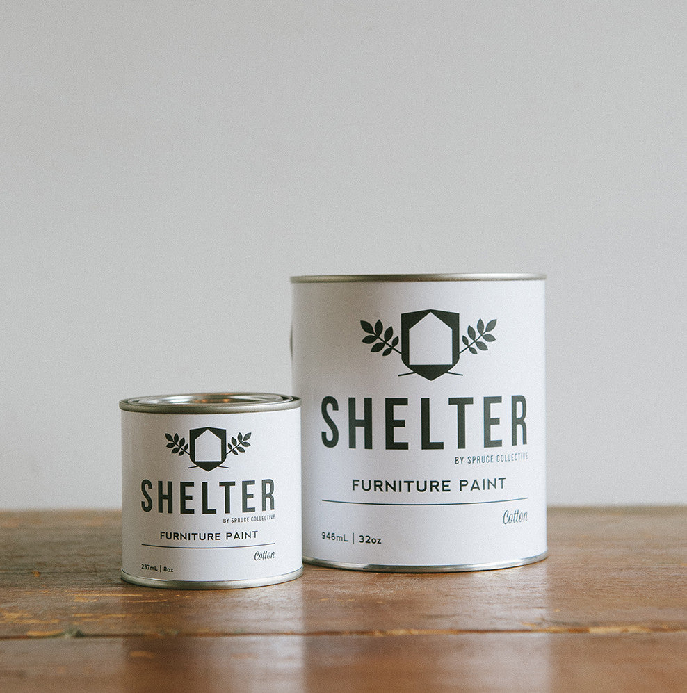 SHELTER Furniture Paint by Spruce Collective IRONSTONE
