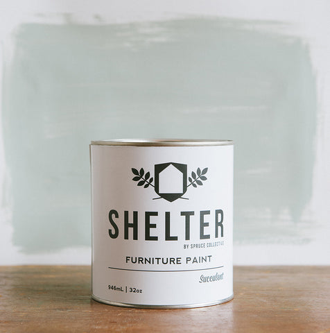 SHELTER Furniture Paint by Spruce Collective SUCCULENT