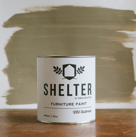 SHELTER Furniture Paint by Spruce Collective  WILD MUSHROOM