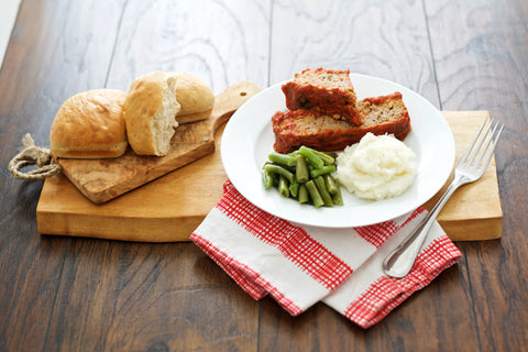 Meatloaf with Sauce