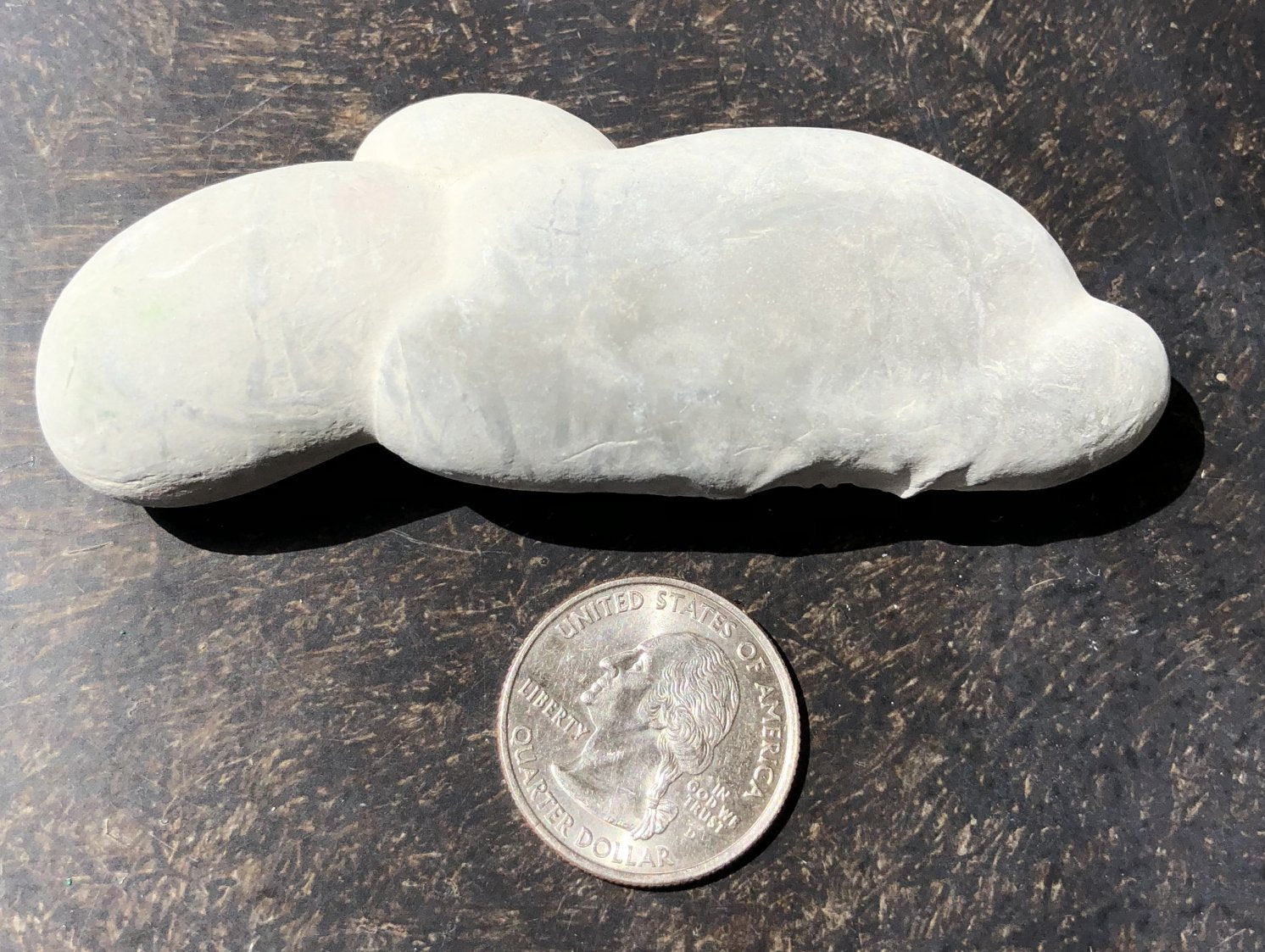 FAIRY STONE / GODDESS STONE Specimen From Harricana River, QC!