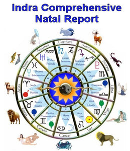 Indra Comprehensive Natal Report - via email