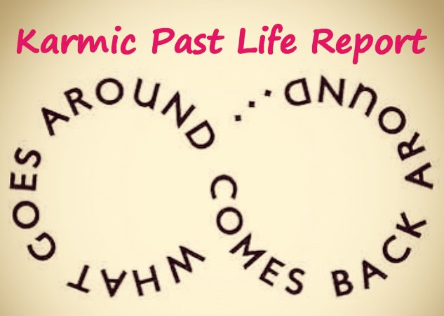 Karmic Past Life Report - via email
