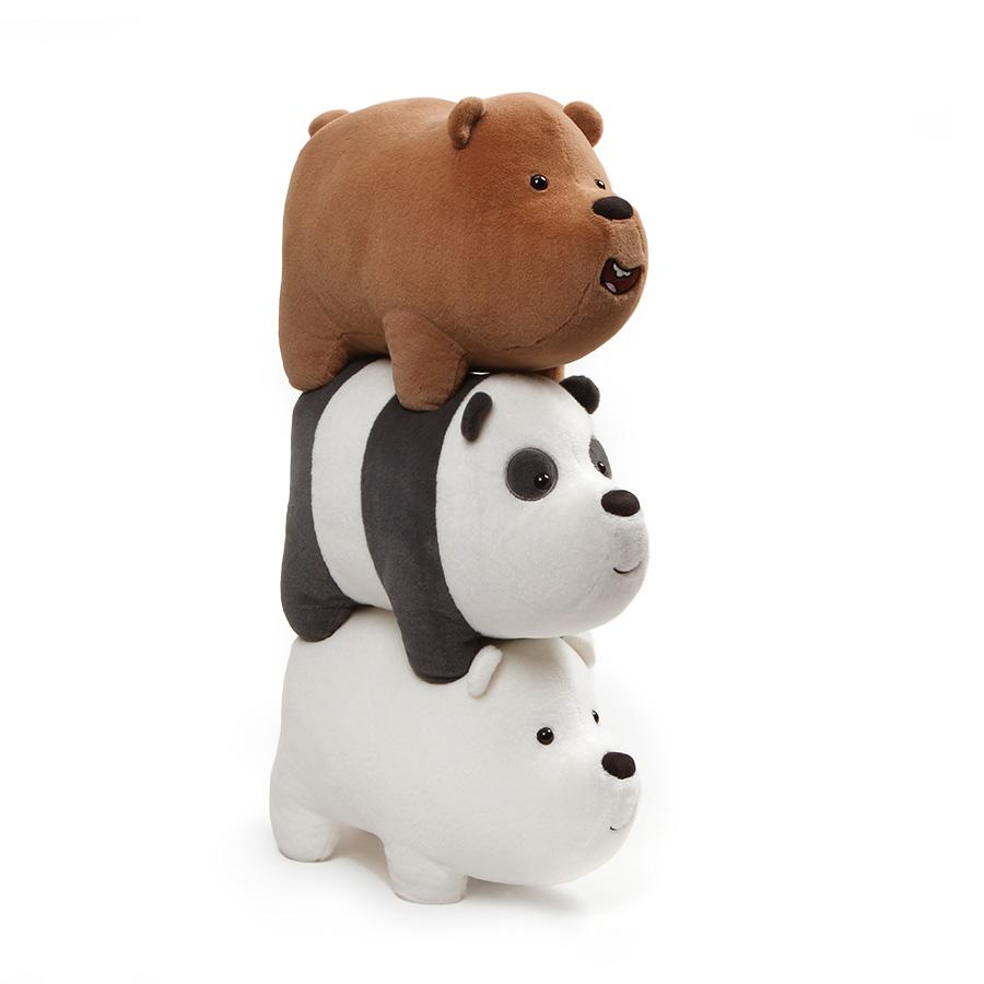 "We Bare Bears 12"" Stack-able Plush"
