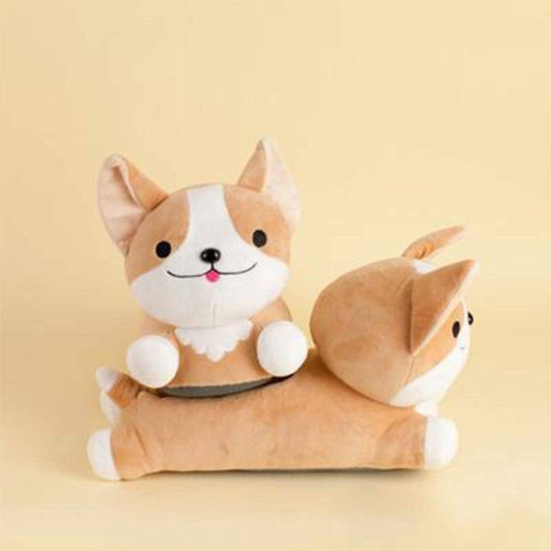 Milo Corgi Wireless Heat Up Slippers
