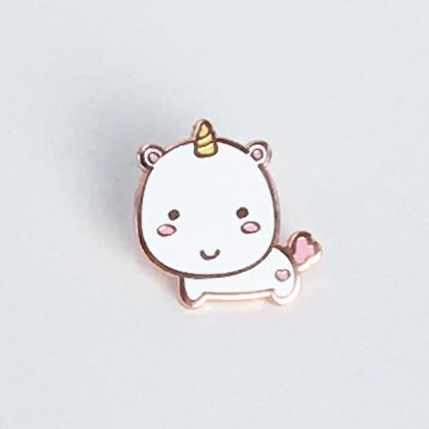 Elodie Unicorn Enamel Pin