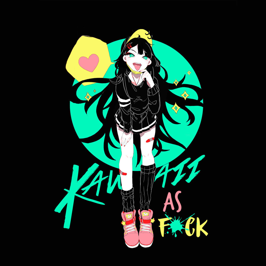 Kawaii As F*ck T-Shirt