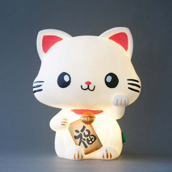 Lucky Meow Cat Lamp