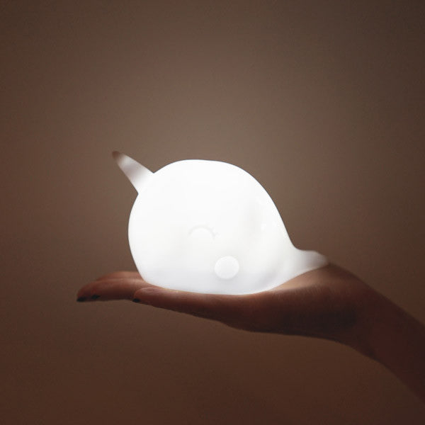 Nari the Narwhal Night Light