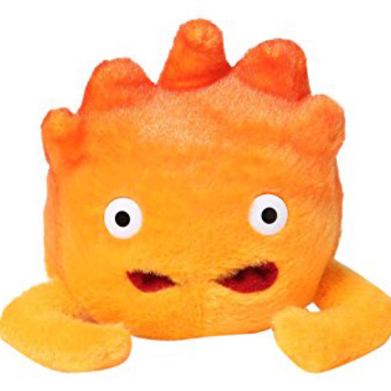 Studio Ghibli Howls Moving Castle Calcifer Plush