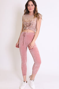 Merci Chenille Leggings
