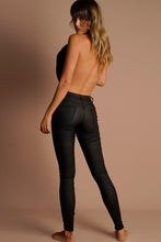 Load image into Gallery viewer, 7/8 Oil Riggers High Waist- Black