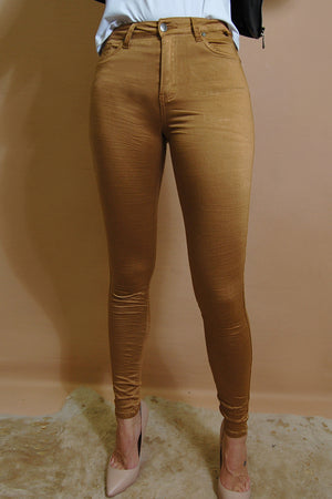 Copper High Waist Gelato Legs
