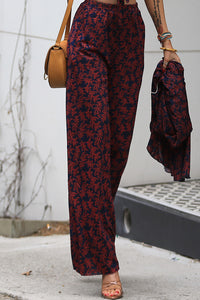 Avrille Floral Knit Pants