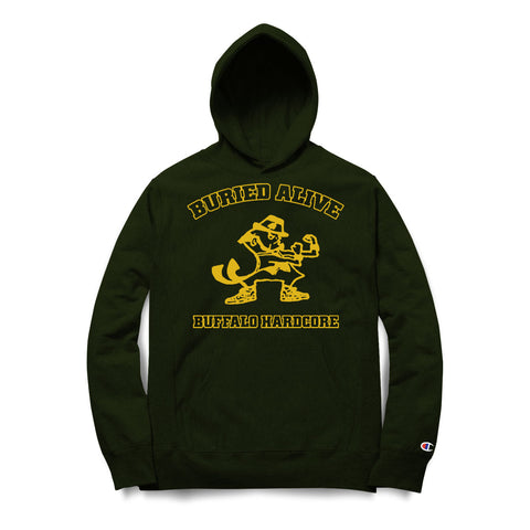 Buried Alive - Buffalo Hardcore (Champion Hoodie)