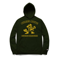 Buried Alive - Buffalo Hardcore (Champion Hoodie) - Shop Shogun