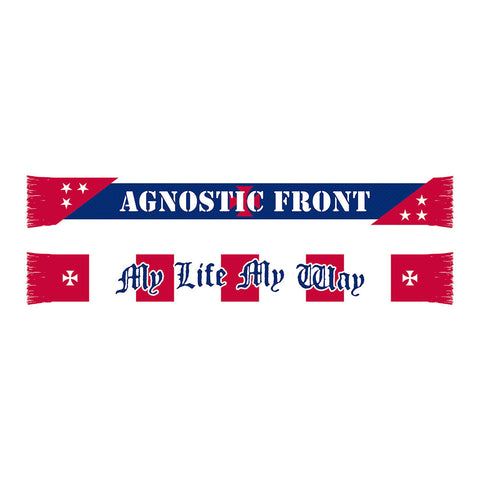 Agnostic Front - Woven Scarf (Limited Release) - Shop Shogun