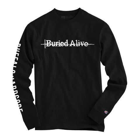 Buried Alive - Same Face (Champion Long Sleeve) - Shop Shogun