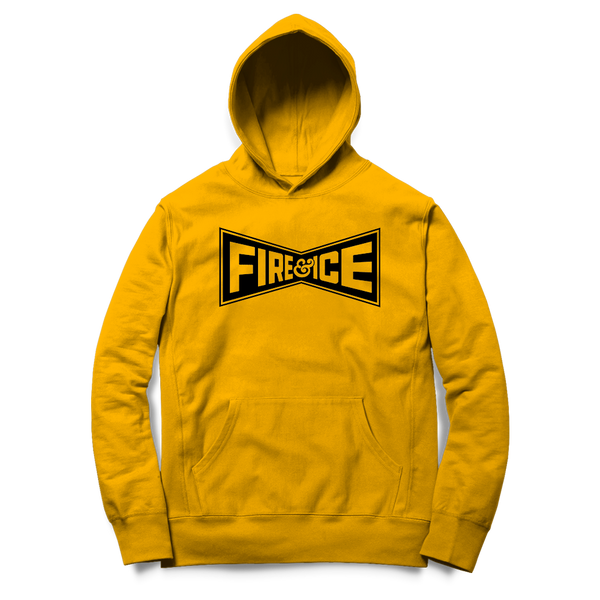Fire & Ice - Champion Hoodie (Yellow)