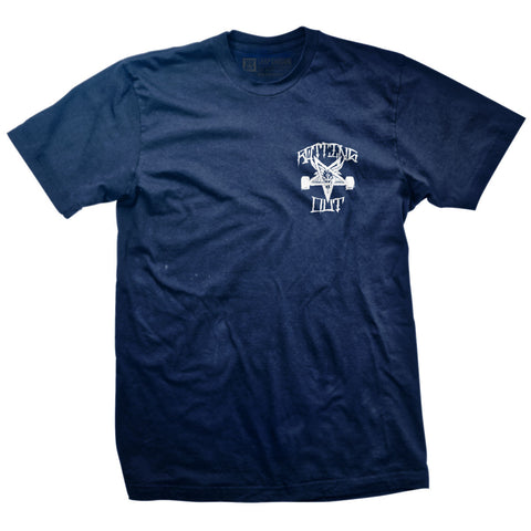 Rotting Out - Thrasher Scratch (Navy & White)