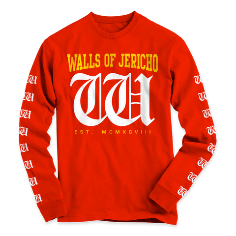 Walls of Jericho - Long Sleeve - Shop Shogun