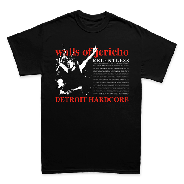 Walls of Jericho - Relentless - Shop Shogun