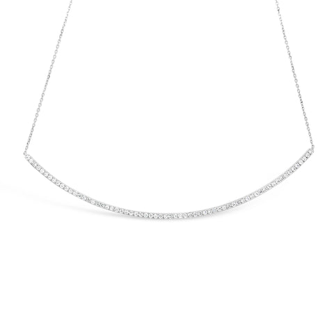 "4"" Diamond Bar Necklace"