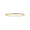 Rainbow Gemstone Bangle