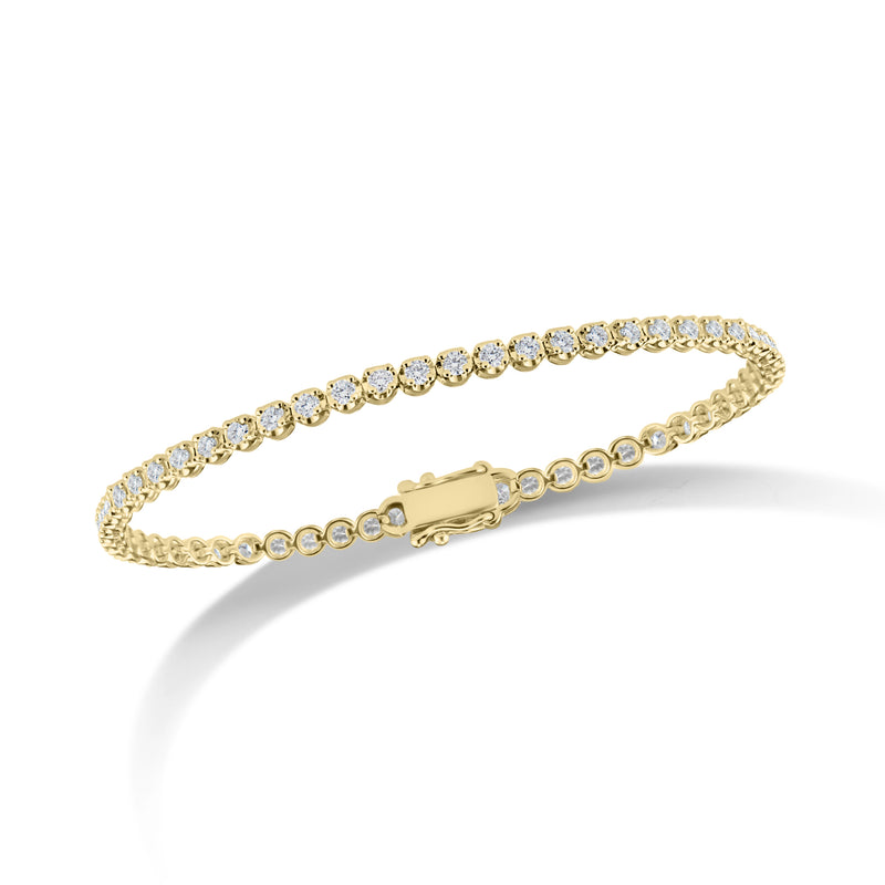 Diamond Slim Classic Tennis Bracelet