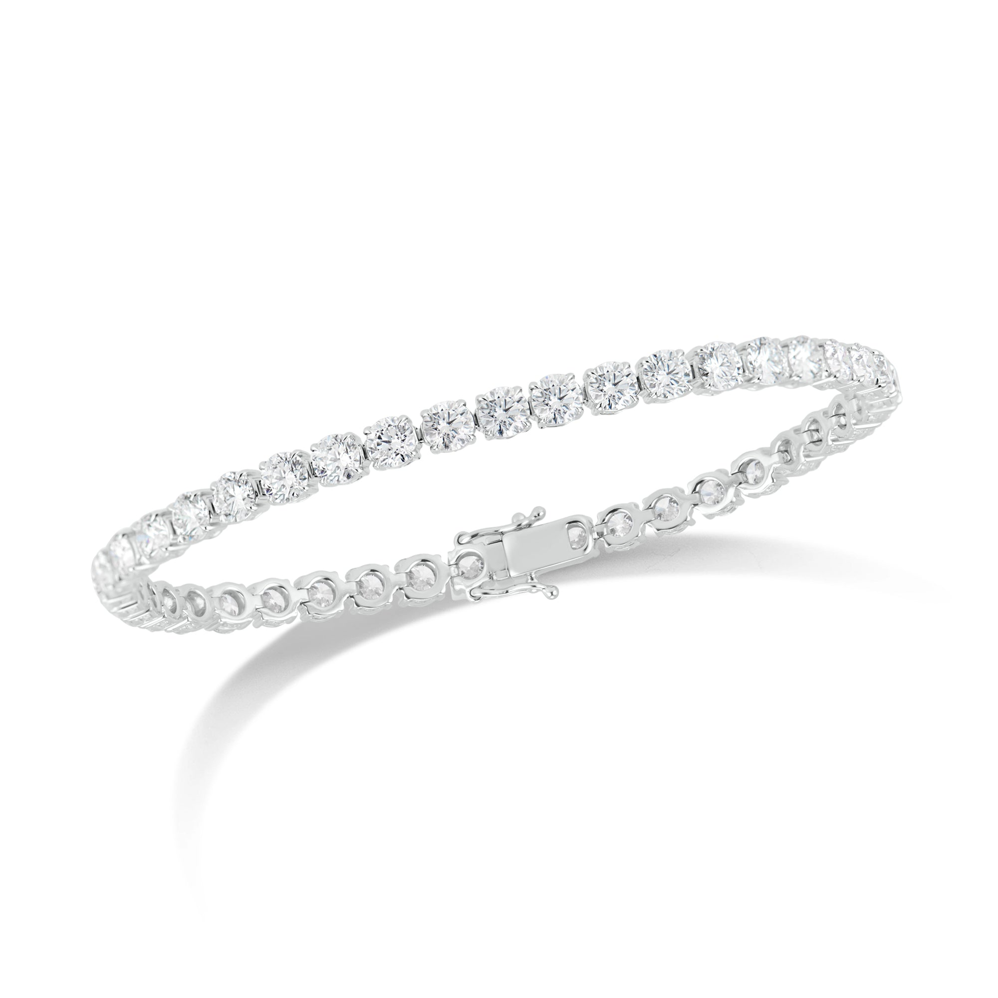 10 ct Diamond Tennis Bracelet