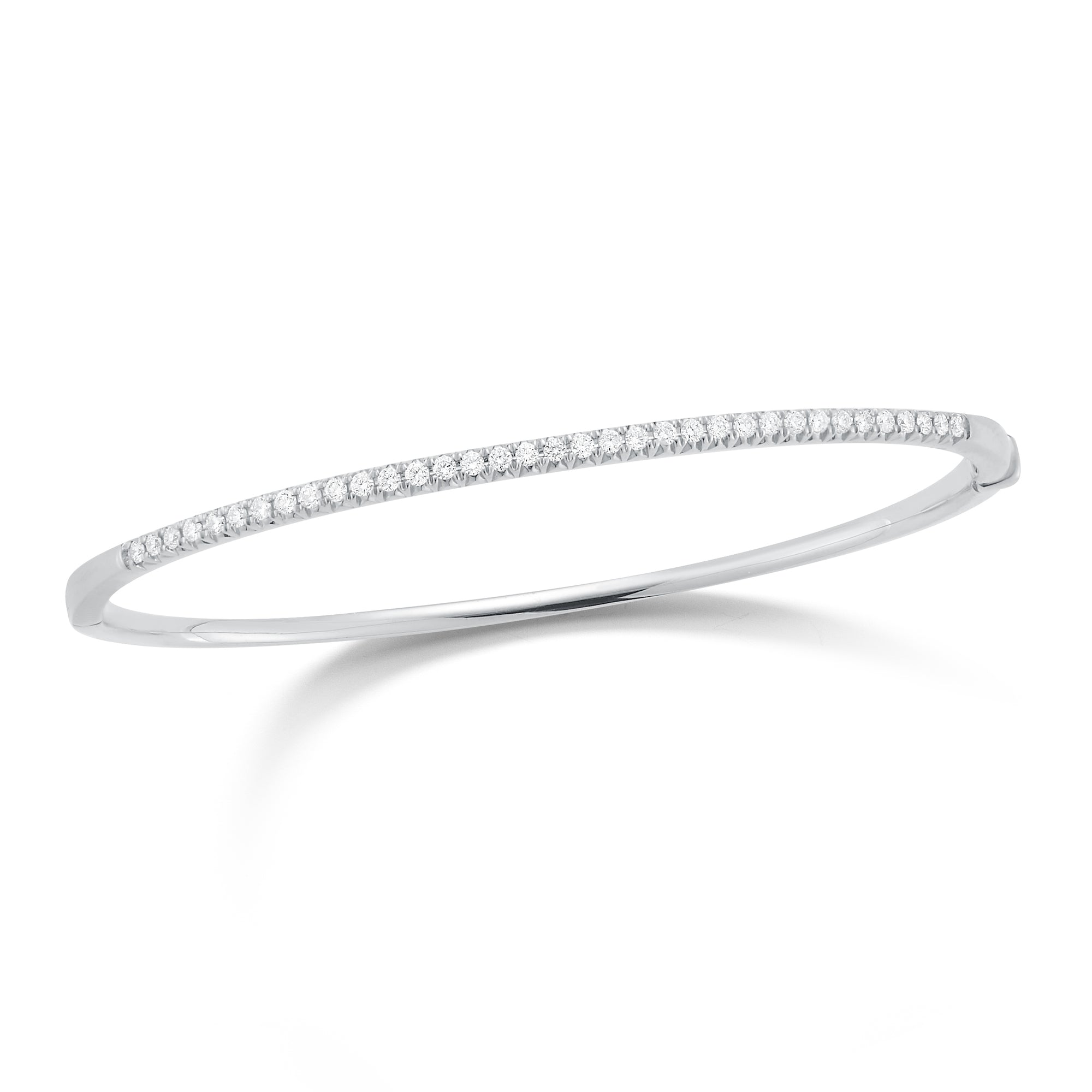 Diamond Small Classic Bangle Bracelet