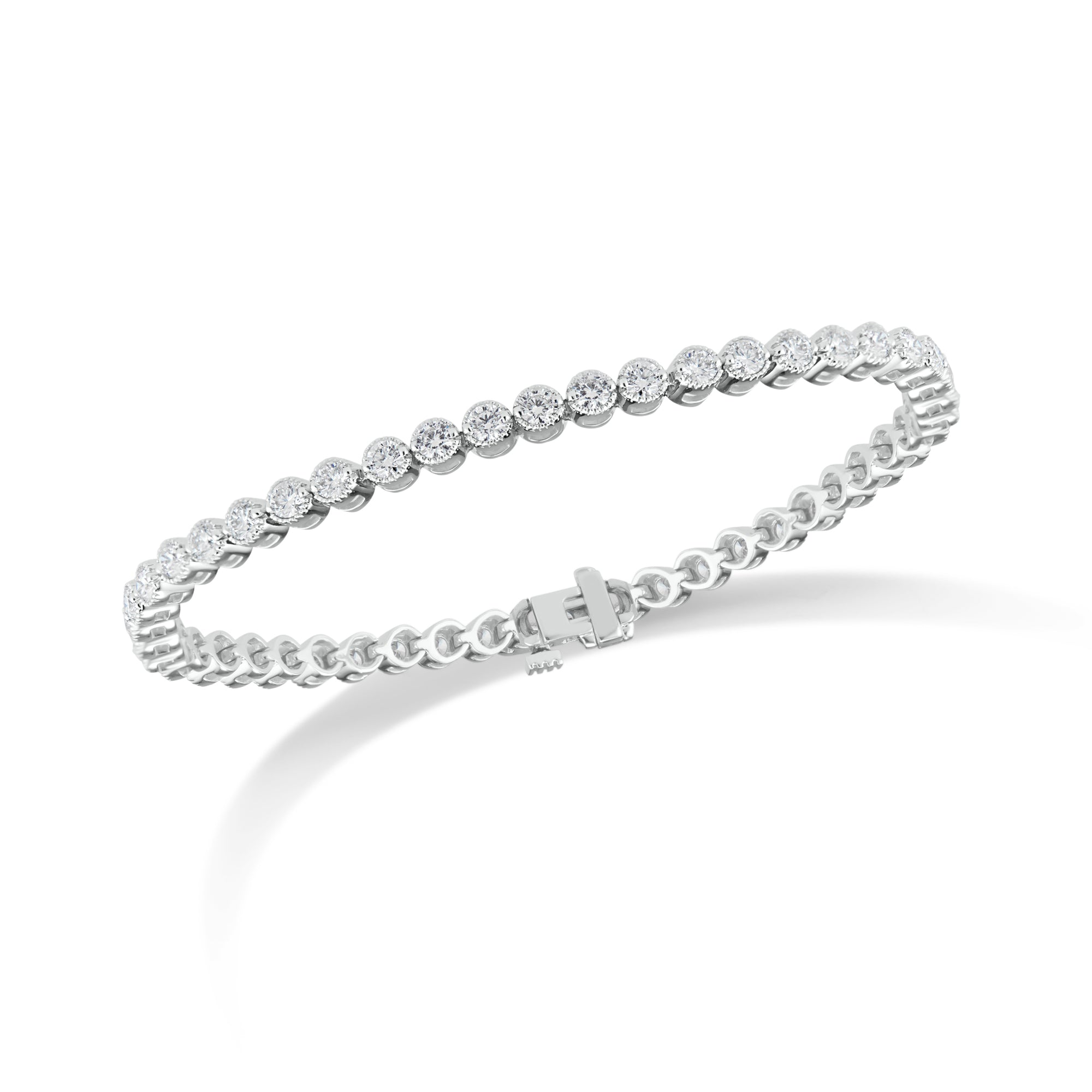 3.65 ct Diamond Tennis Bracelet