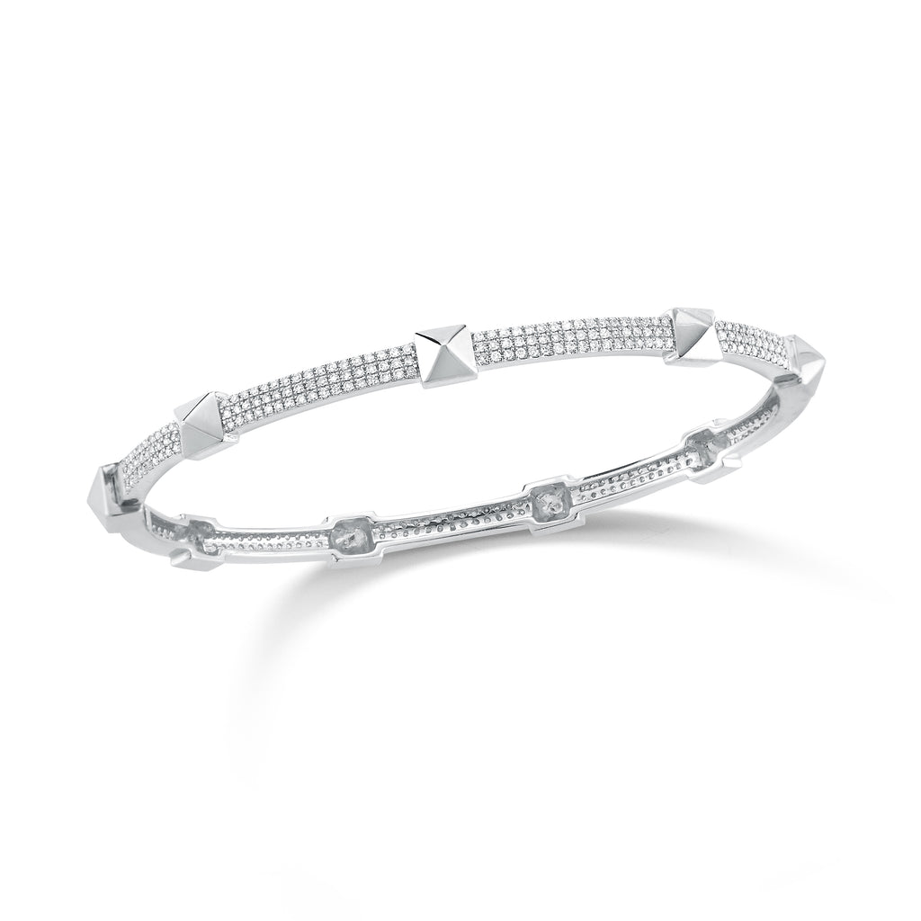 g bracelet bangle s diamond white bangles gold dahlkemper simon silver