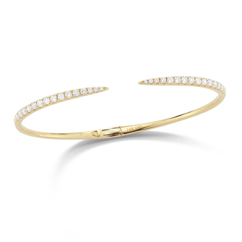 Diamond Claw Cuff Bracelet