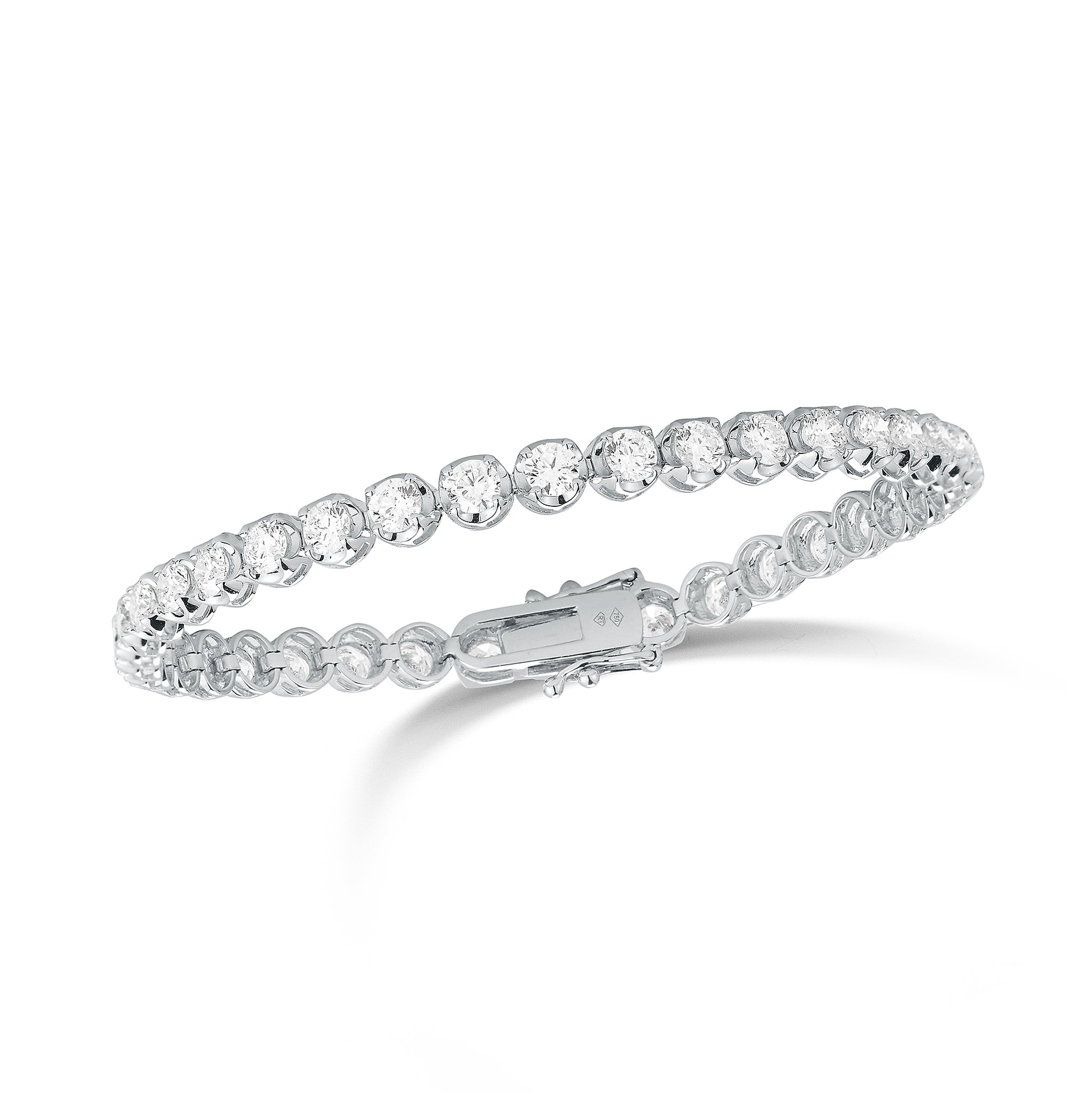 Diamond Large Tennis Bracelet