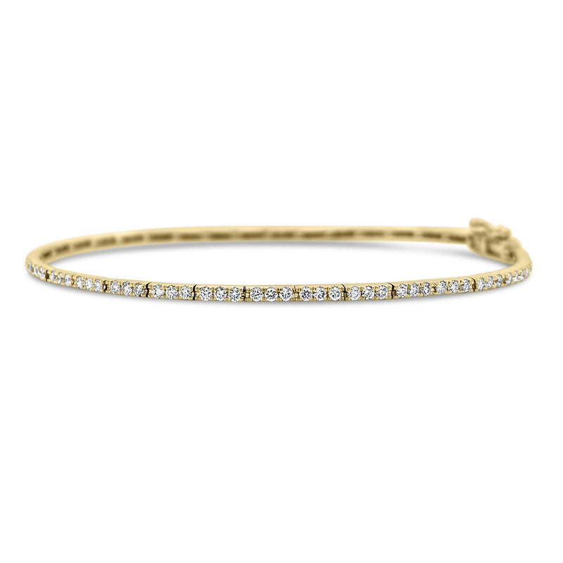 Diamond Slim Tennis Bracelet