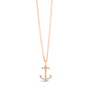 Diamond Anchor Pendant