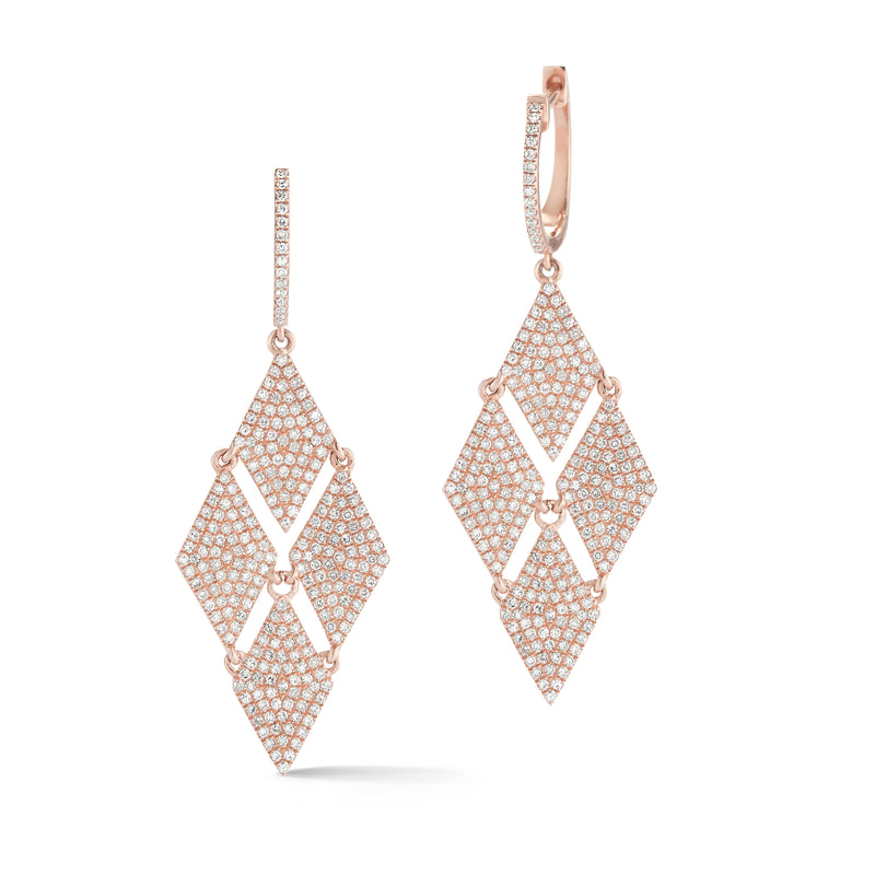 Diamond Fashion Dangle Earrings